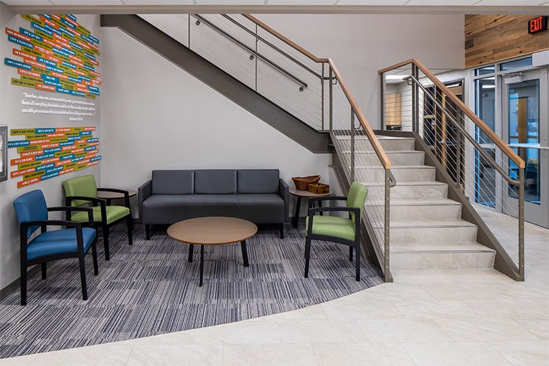 Main Lobby at Valley Christian Counseling Center